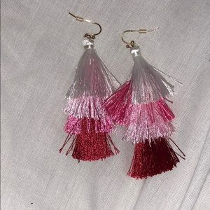 Jewelry - Women's tassel earrings